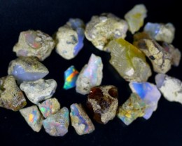 89.5Cts Ethiopian Welo Rough Opal Parcel Lot