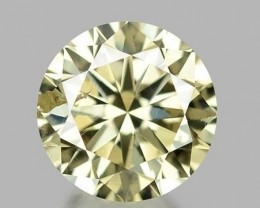 0.33 CT DIAMOND WITH SPARKLING LUSTER GEMSTONE WD13
