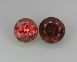 ADAROBLE RARE NATURAL SPINEL TOP COLOR 2 PCS