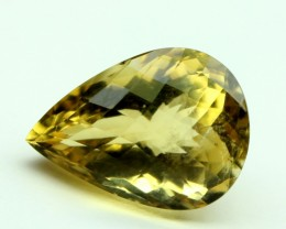 13 CT NATURAL CITRINE FACETED GEMSTONE 0050