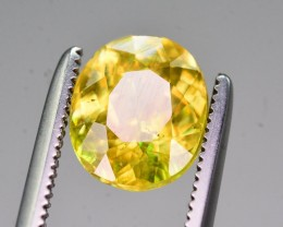 Top Dispersion 1.95 Ct Natural Titanite Sphene ~ ARA