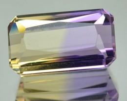 2.85 Cts Natural Ametrine Bi-Color Octagon Bolivia