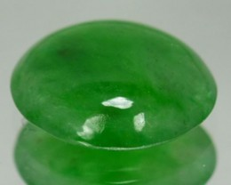 1.28 Cts natural Green Jade Cabochon Burmese Gem