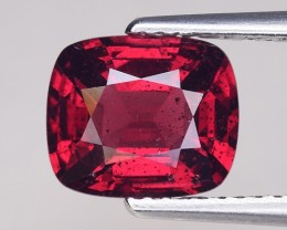2.18 Cts Untreated Red Spinel Excellent Color ~ Burma SB2