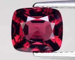 1.97 Cts Untreated Red Spinel Excellent Color ~ Burma SB3