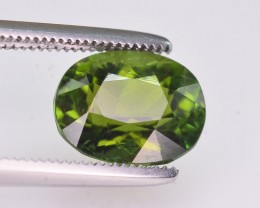 2.40 Ct Amazing Color Natural Green Tourmaline