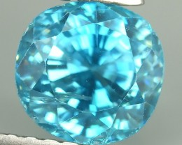 2.85 CTS AWESOME SPARKLE NATURAL RARE BEST BLUE ZIRCON