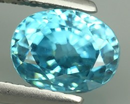 2.80 CTS AWESOME SPARKLE NATURAL RARE BEST BLUE ZIRCON