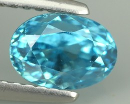 2.50 CTS FABULOUSLY NATURAL BLUE ZIRCON TOP QUALITY