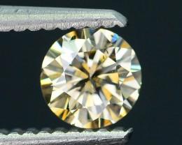 Certified 0.66 ct Untreated  White Diamond  SKU 6