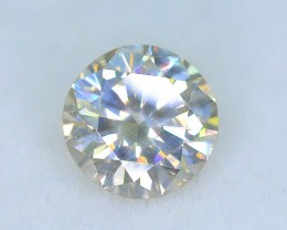 Certified 0.72 ct Untreated  White Color Diamond  SKU 6