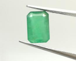Certified 0.94ct. Brazilian Emerald