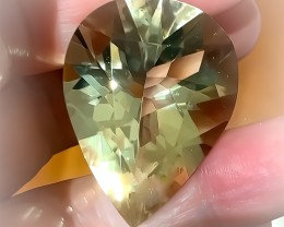 EXCEPTIONAL CITRINE - SUPERB CUT  ; QUALITY GEM CERTIFIED