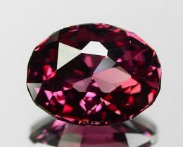 1.67 CT GRAPE GARNET TOP LUSTER GEMSTONE GT4