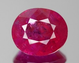 1.54 CT RUBY TOP CLASS LUSTER GIL CERTIFIED
