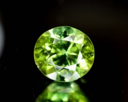 4 carats natural green tourmaline gemstone