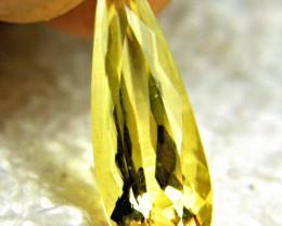 8.69 Carat SI Golden Beryl - Gorgeous