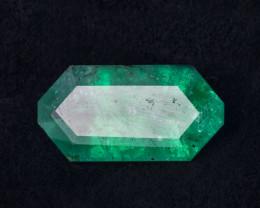 6.75 CTS - Emerald Fancy Cut - Intense Green - Oiled - Brazil