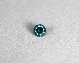 Certified Blue Diamond 0.20ct.