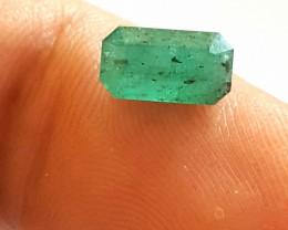 1.65 CTS -Emerald Rectangular cut - 9.2 x 5.2 x 5.2mm - Oiled - Brazil