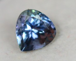 1.33ct Greenish Blue Tanzanite Pear Cut Lot GW2534
