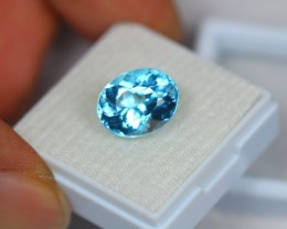 Black Friday 6.86Ct Blue Topaz Oval Cut Lot A61