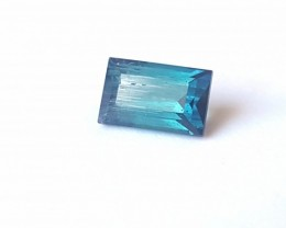 Tourmaline Indicolite - 1.95 CTS - 8 x 5 x 5 mm - Afghanistan