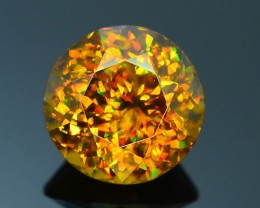 Rare AAA Fire 6.31 ct Imperial Sphene Pakistan Sku-22
