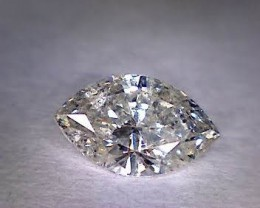 Marquise Cut Diamond 0.56ct.