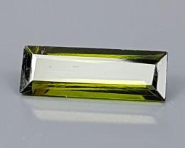 1.25Crt Olive Tourmaline  Best Grade Gemstones JI109