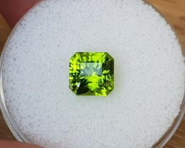3,54ct Peridot - Master cut!
