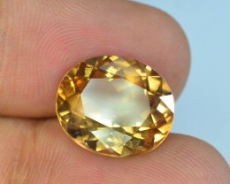 10.70 ct Champagne Color Topaz Skardu Pakistan