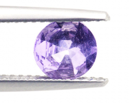 Certified Light Purple Ceylon Sapphire 0.89ct.