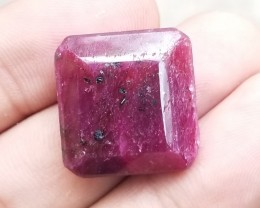 RUBY BIG GEMSTONE  Natural treated stone VA722