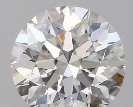 0.65CT DIAMOND WHITE COLOR COLLECTION PIECE IGCDN1