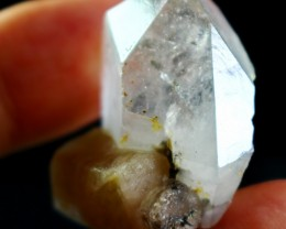 83.90 CT Natural - Unheated  Quartz Pink Apatite Combine Crystal Specimen
