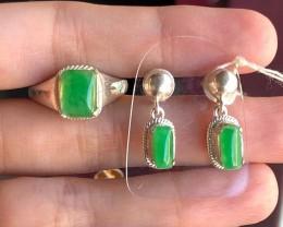 Burmese Jade,   Pure Green,  Great Translucency