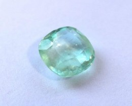 Certified Light Green Emerald 1.31ct.