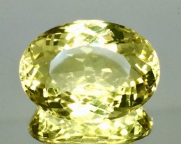 15.80 Crt Natural Lemon Quartz Top luster Faceted Gemstone.( AG 69)