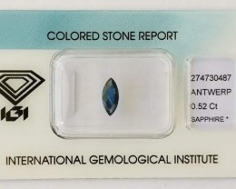 Natural Sapphire 0.52ct.