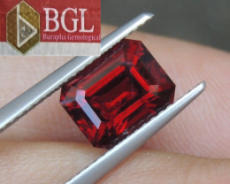 2.95cts Burma Red Spinel,  100% Untreated,