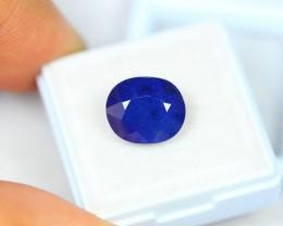 7.90Ct Blue Sapphire Composite Oval Cut Lot A428