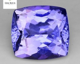 2.26 Cts Tanzanite Faceted Gemstone Awesome Color & Cut TN17