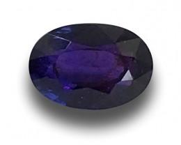Natural Unheated Violet Sapphire Loose Gemstone New  Sri Lanka