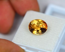 Black Friday 7.14Ct Natural Yellow Topaz Oval Cut Lot A81