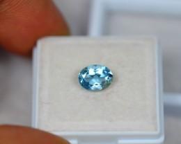 1.16ct Blue Aquamarine Oval Cut Lot GW2560