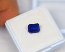 2.46ct Blue Sapphire Octagon Cut Lot GW2564