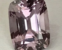 Pretty Purple Silvery Pink Rectangular Cushion Cut Spinel - Burma G393