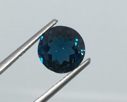 2.70 Carat VS Topaz London Blue - Brazilian Beauty !