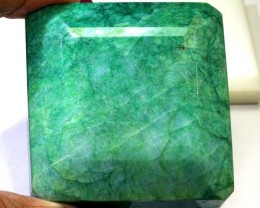 924- CTS  EMERALD FACETED POLISHED  TBM-1566
